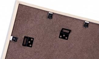 henzo holzbilderrahmen 2x 13x18 bilderrahmen rahmen holz fotorahmen holzrahmen ebay. Black Bedroom Furniture Sets. Home Design Ideas