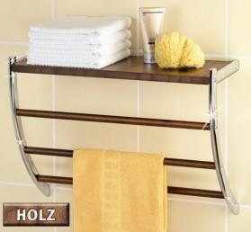 wenko wandregal handtuchhalter handtuchstange badregal ebay. Black Bedroom Furniture Sets. Home Design Ideas
