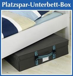 wenko aufbewahrungsbox 70x47x19cm unterbettkommode bett kommode box bettkasten. Black Bedroom Furniture Sets. Home Design Ideas