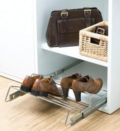 wenko schrankauszug f r schuhe schuhablage schrank regal schuhschrank schuhregal. Black Bedroom Furniture Sets. Home Design Ideas
