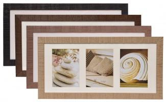 holzbilderrahmen 3x 13x18 bilderrahmen galerie rahmen holz fotorahmen holzrahmen ebay. Black Bedroom Furniture Sets. Home Design Ideas