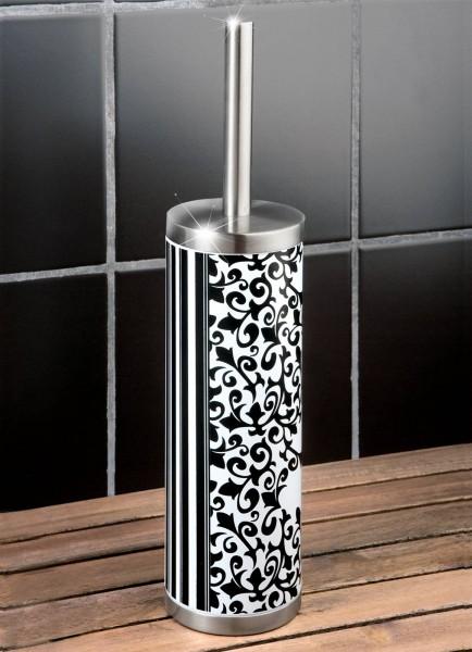 wenko wc brush stainless steel toilet brush bath set ebay. Black Bedroom Furniture Sets. Home Design Ideas