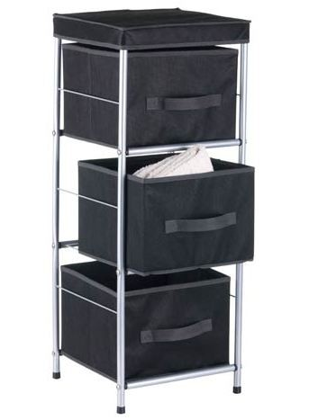 schubladen kleider schrank aufbewahrungs box kommode ebay. Black Bedroom Furniture Sets. Home Design Ideas