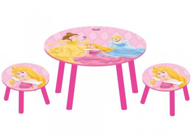 disney kinder sitzgruppe princess kinder tisch stuhl ebay. Black Bedroom Furniture Sets. Home Design Ideas