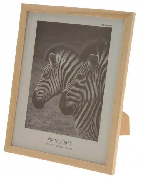 holz bilderrahmen 20x25 cm fotorahmen rahmen holzrahmen holzbilderrahmen neu ebay. Black Bedroom Furniture Sets. Home Design Ideas