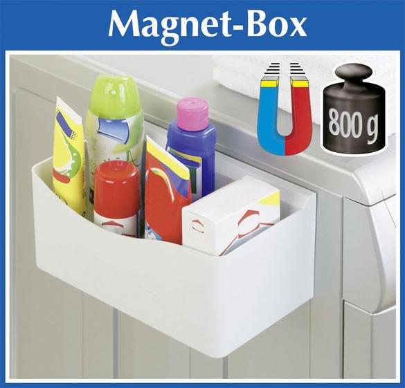 wenko magnet box badablage aufbewahrungsbox f r waschmaschine oder k hlschrank ebay. Black Bedroom Furniture Sets. Home Design Ideas