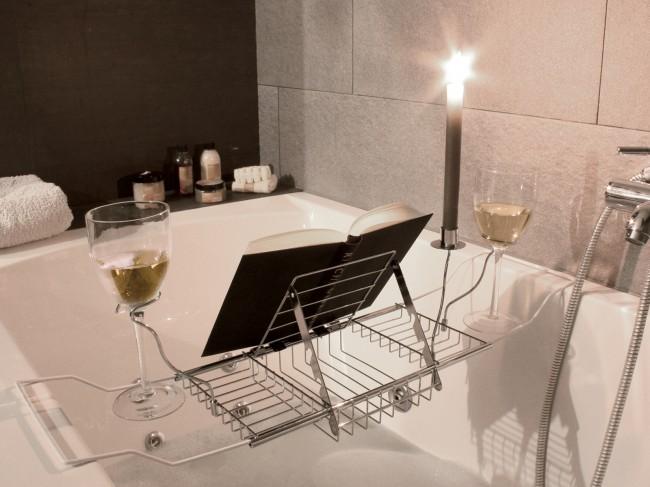badewannenablage 62 90 cm badablage badewanne ablage ebay. Black Bedroom Furniture Sets. Home Design Ideas