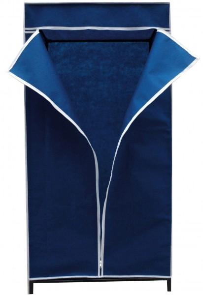 faltschrank blau 75x50x150cm kleiderschrank schrank. Black Bedroom Furniture Sets. Home Design Ideas