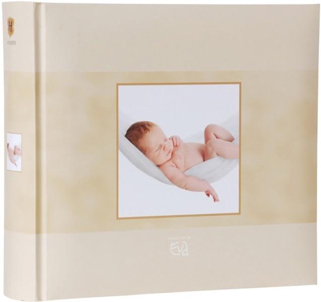 henzo einsteckalbum beige baby album f r 200 fotos 10x15 fotoalbum babyalbum neu ebay. Black Bedroom Furniture Sets. Home Design Ideas