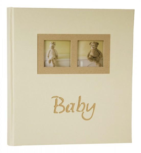 henzo teddy babyalbum baby foto album fotoalbum geschenk. Black Bedroom Furniture Sets. Home Design Ideas