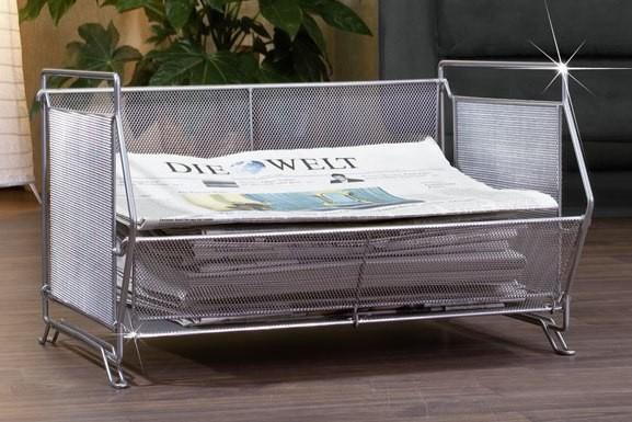 zeitungsablage stapelbar zeitungsst nder zeitungshalter. Black Bedroom Furniture Sets. Home Design Ideas