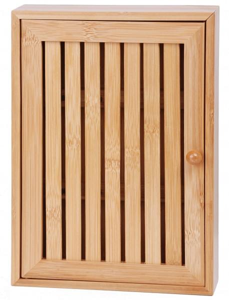 bambus schl sselkasten holz schl sselschrank schl sselbrett schl ssel schrank ebay. Black Bedroom Furniture Sets. Home Design Ideas
