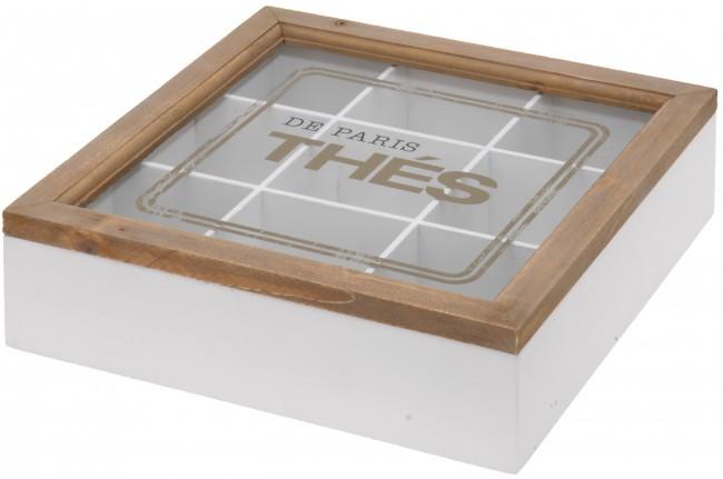teekiste holz teebox teedose dose teebeutel box tee. Black Bedroom Furniture Sets. Home Design Ideas