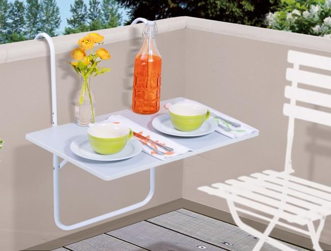 balkontisch klappbar 60x40cm balkon tisch balkonm bel. Black Bedroom Furniture Sets. Home Design Ideas