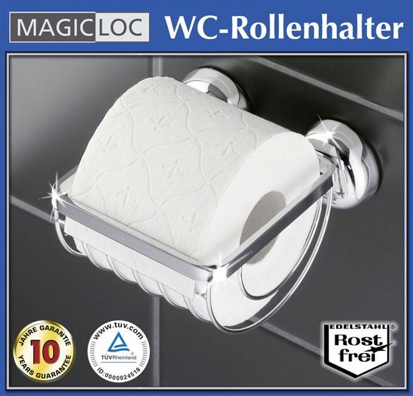 wc toilettenpapierhalter edelstahl rollenhalter ohne bohren papierrollenhalter ebay. Black Bedroom Furniture Sets. Home Design Ideas