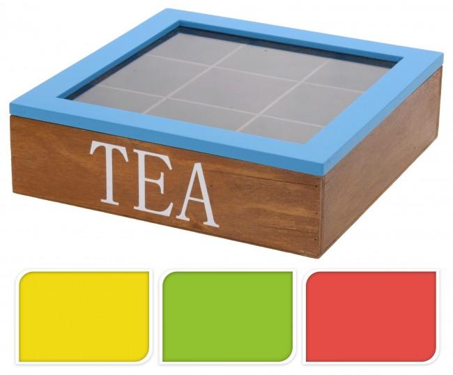 teekiste holz teebox teedose dose teebeutel box tee aufbewahrung teebeutelbox. Black Bedroom Furniture Sets. Home Design Ideas