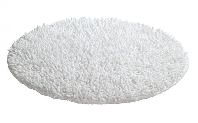 WENKO Badteppich WEISS 60 cm Badematte Bad Teppich