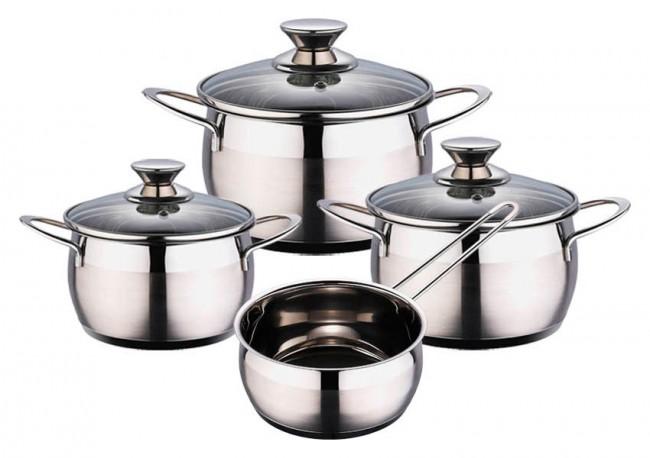 7 uds acero inoxidable cazo set juego de utensilios - Utencillos de cocina ...
