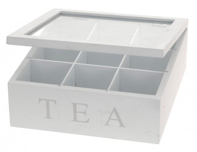 teebox holz teekiste teebeutel box teedose dose tee aufbewahrung teebeutelbox ebay. Black Bedroom Furniture Sets. Home Design Ideas