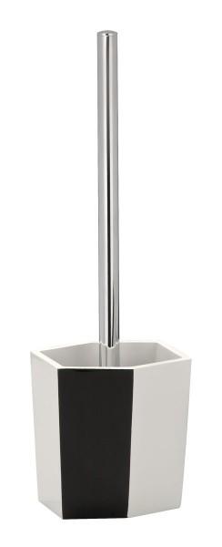 Accesorios De Baño Wenko:de baño en blanco y negro cepillo de baño conjunto aseo sistema de