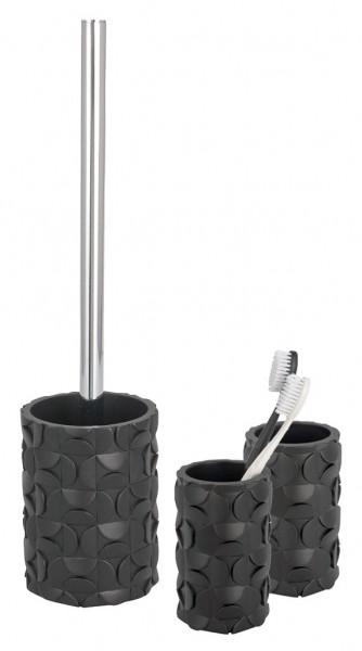 Accesorios De Baño Wenko:piezas Set De Baño Cepillo De Baño, De Toilette 2 Vaso Cepillo De