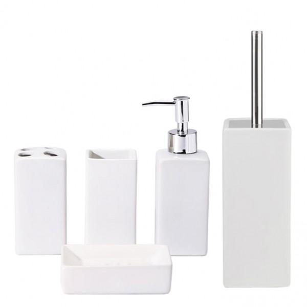 Set De Baño Jabonera:pcs Set de baño o cepillo de baño – DIRECTO – cerámica – Jabonera