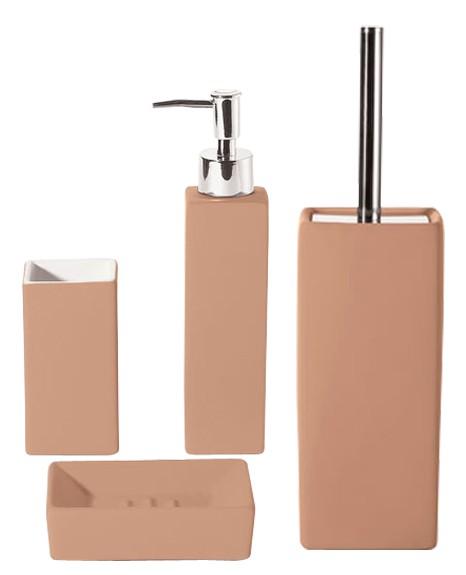 Set De Jabonera Para Baño:Set de baño escobilla de baño Jabonera Dispensador de jabón