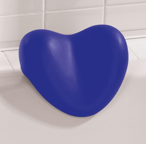 wenko nackenkissen blau herz kissen f r badewanne. Black Bedroom Furniture Sets. Home Design Ideas