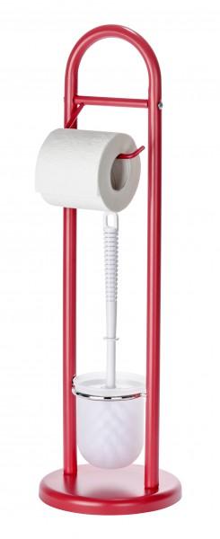 wenko wc garnitur wc b rste rollenhalter toilettenb rste toilettenapierhalter ebay. Black Bedroom Furniture Sets. Home Design Ideas