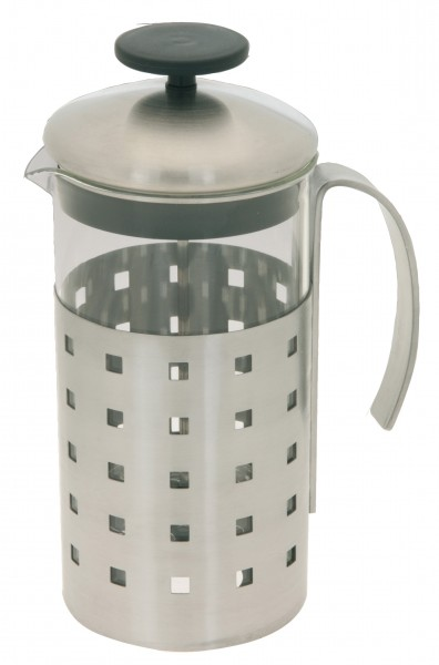 kaffeebereiter teebereiter 1 l edelstahl glas kaffeekanne kaffeemaschine kanne ebay. Black Bedroom Furniture Sets. Home Design Ideas