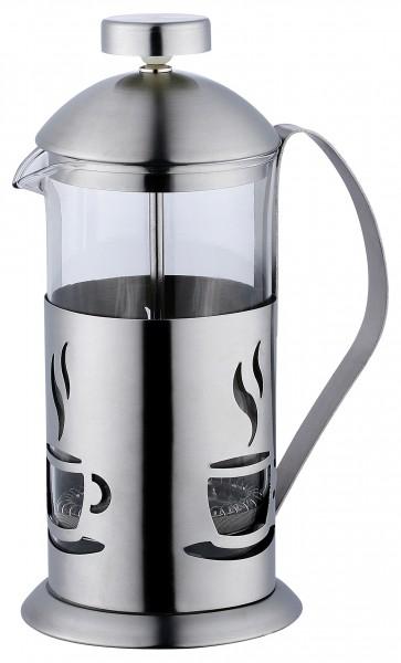 kaffeebereiter teebereiter 600ml edelstahl glas kaffeekanne kaffeemaschine kanne ebay. Black Bedroom Furniture Sets. Home Design Ideas