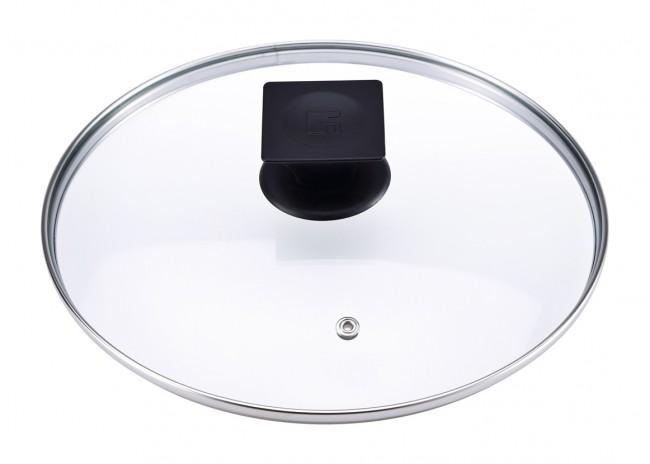 glas deckel topfdeckel topf pfanne ersatzdeckel pfannendeckel 20 24 28 cm neu ebay. Black Bedroom Furniture Sets. Home Design Ideas