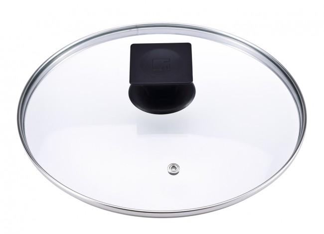 Glas deckel topfdeckel topf pfanne ersatzdeckel for Pfannendeckel glas 28cm