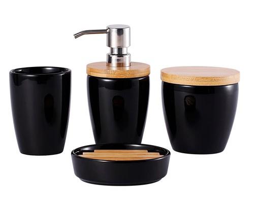 Set De Baño Jabonera:Set De Baño Jabonera Vaso Cepillo De Dientes Dispensador De Jabón